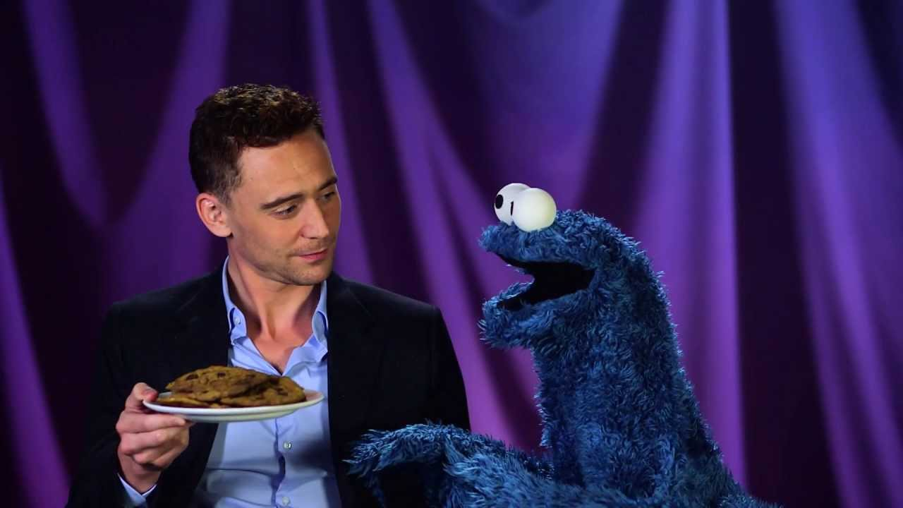 Hiddleston Cookie Monster