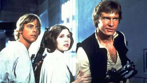 Solo, Leia and Skywalker