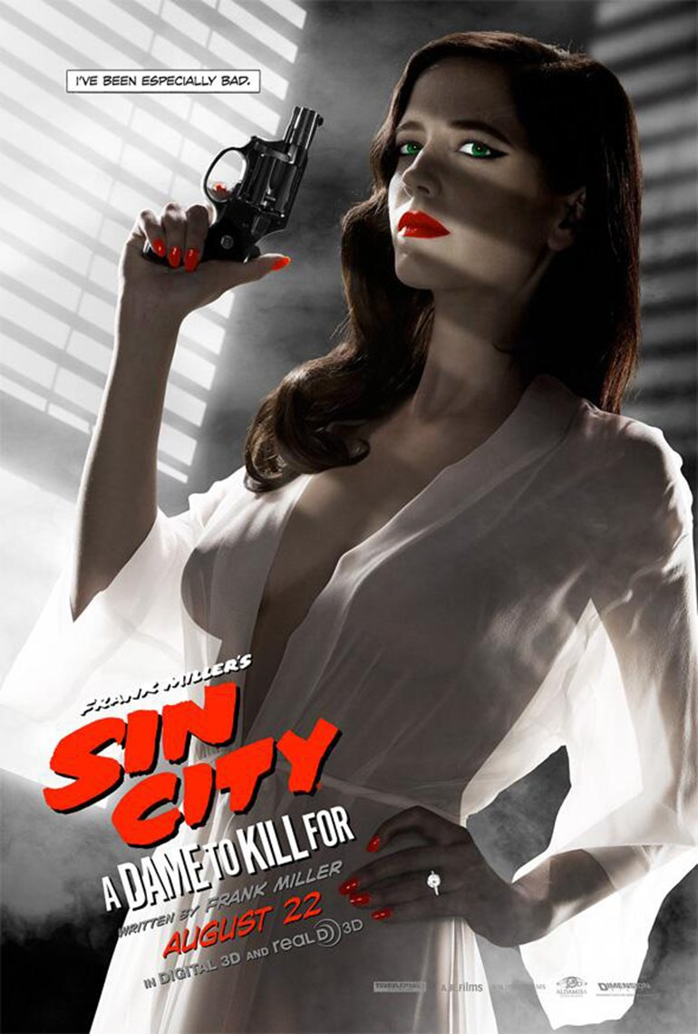 Sin City Eva Green Poster