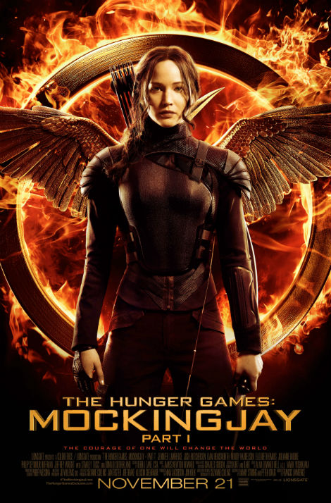 Hunger Games Mockingjay 1 Final Poster