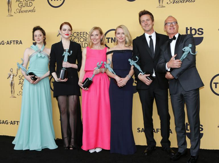 Birdman Cast SAG Awards 2015