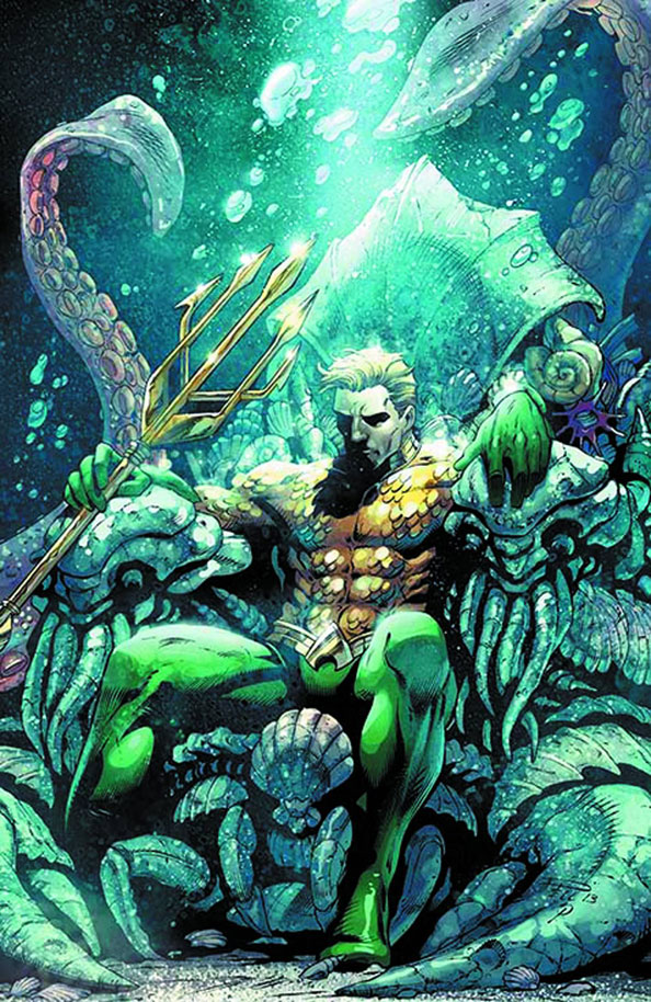Aquaman Throne