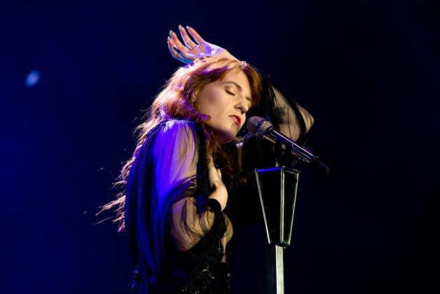 Florence Welch O2 Arena