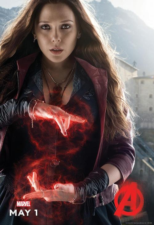 Scarlet Witch Age of Ultron Poster