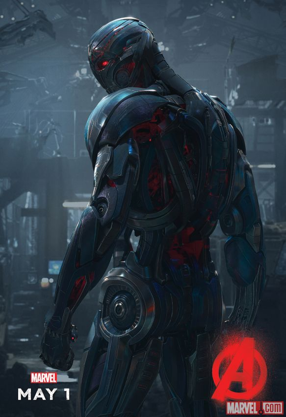 Ultron Age of Ultron Poster