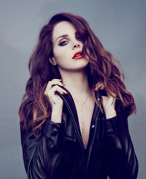 Lana Del Rey Black Jacket