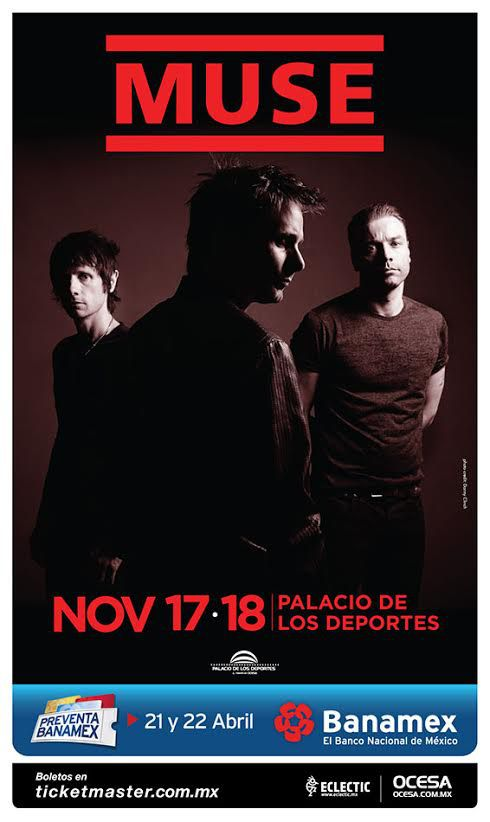 Muse Mexico 2015