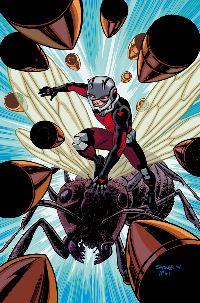 Ant-Man Comic Cover