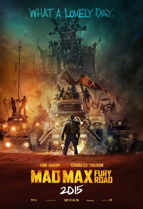 Mad Max Fury Road Main Poster