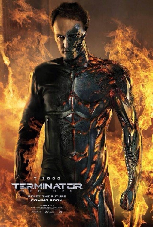 Terminator Genisys T-3000 Poster