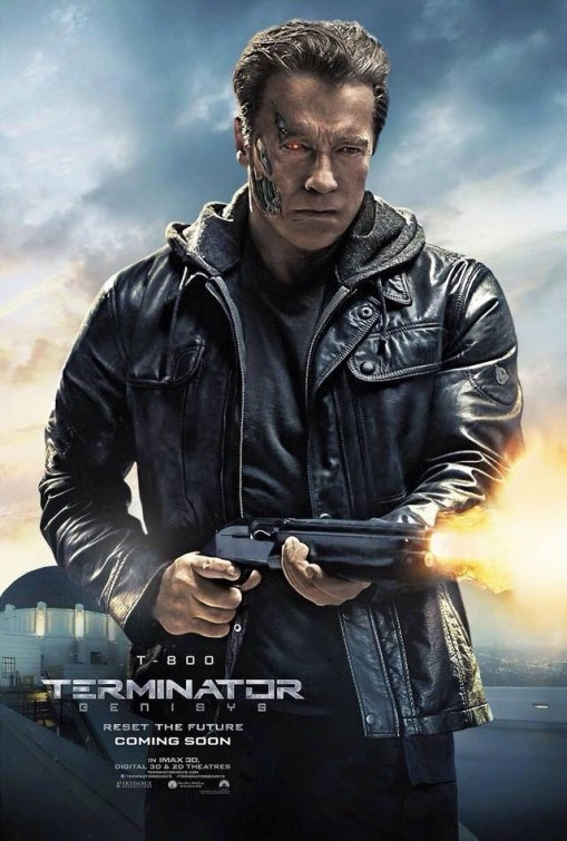 Terminator Genisys T-800 Poster