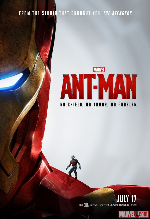Ant-Man Armor Poster
