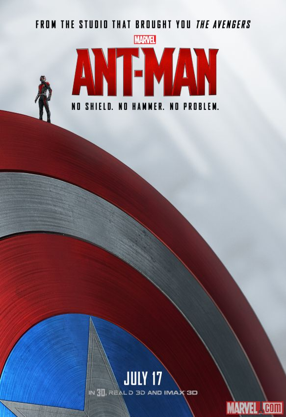 Ant-Man Shield Poster