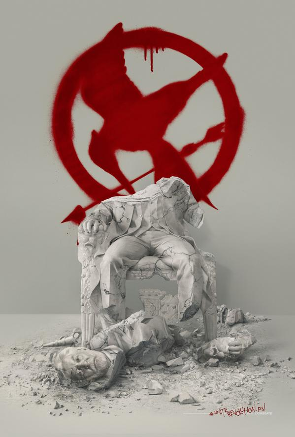 Snow Poster Mockingjay 2