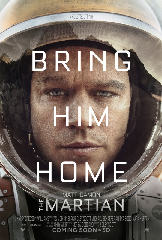 The Martian Poster 1
