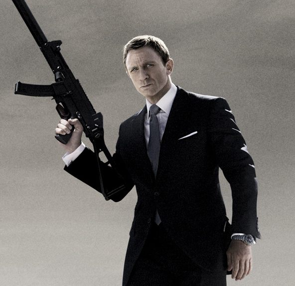 Daniel Craig Bond Big Gun