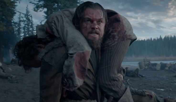DiCaprio The Revenant Still