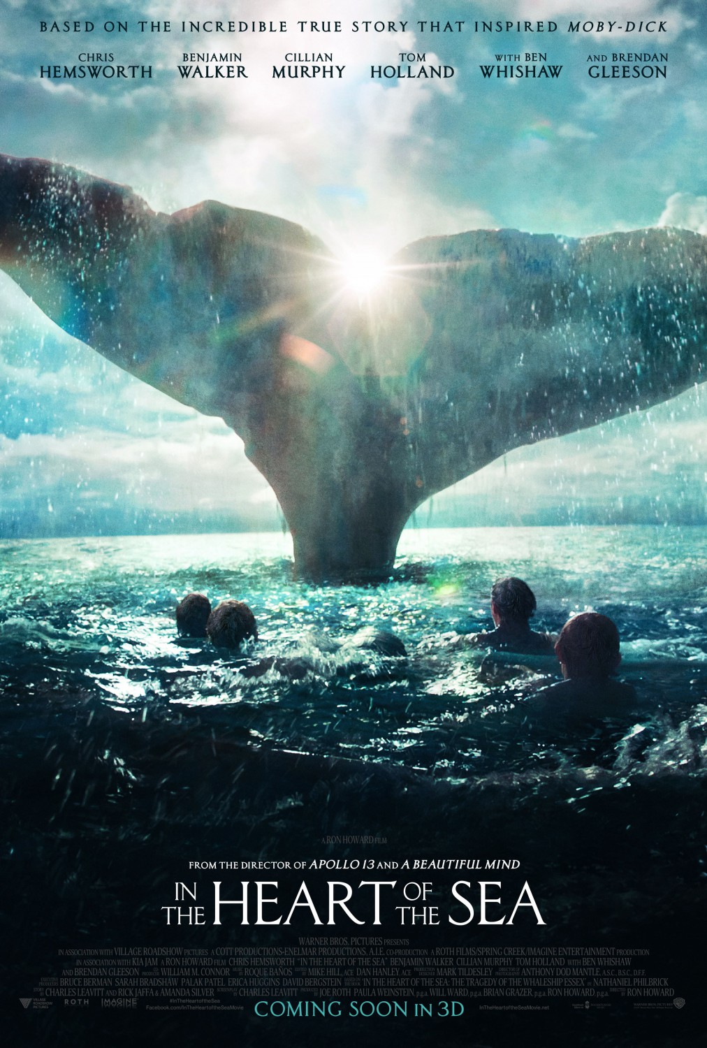 In the heart of the sea poster 2
