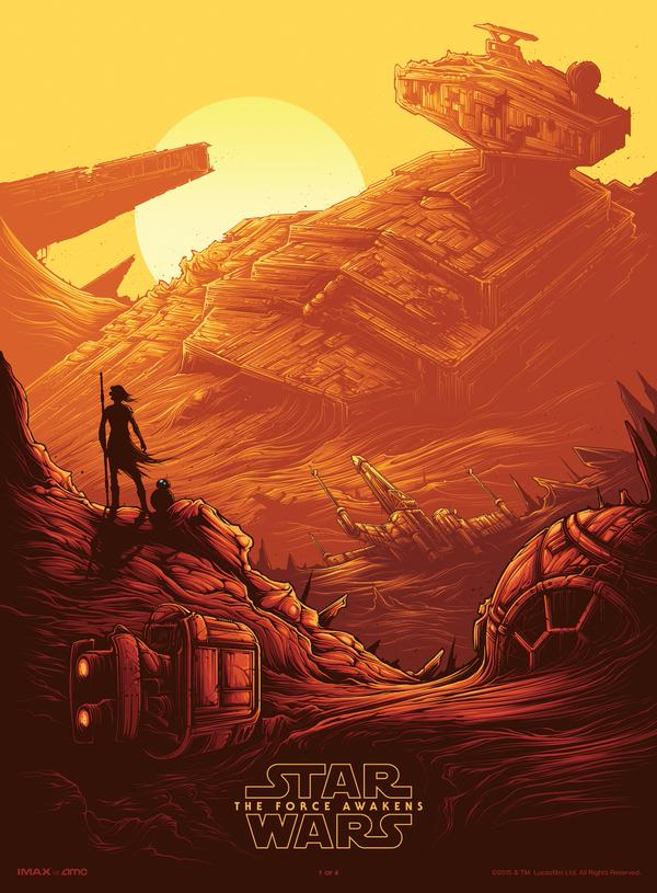 The Force Awakens IMAX Poster
