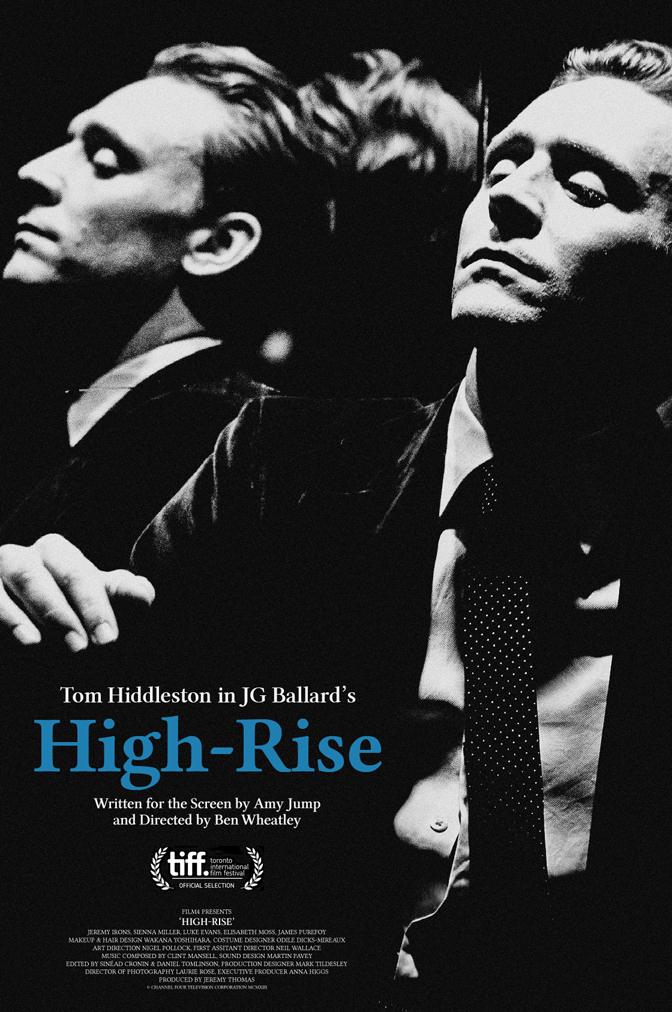 High Rise Tom Hiddleston Poster
