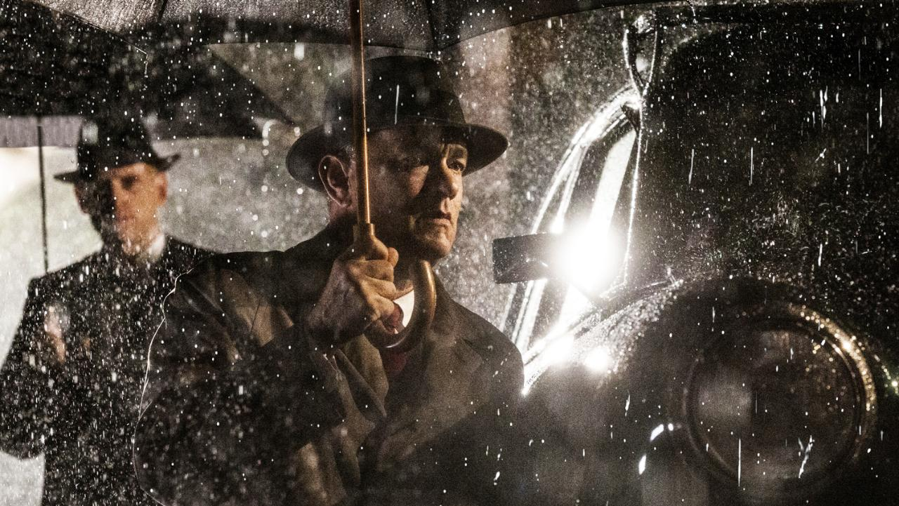 Bridge of Spies rain