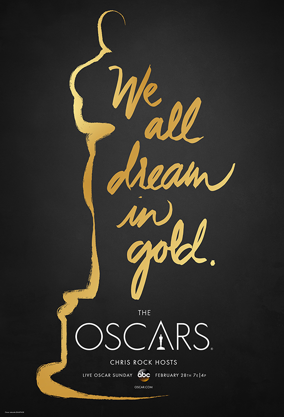 Oscars 2016 Poster