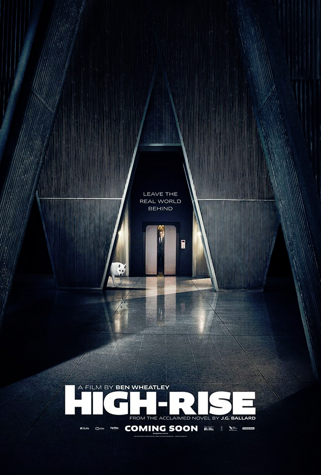High Rise Elevator Poster